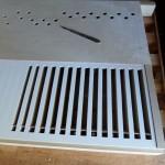 uitsnijden papier ventielopeningen
